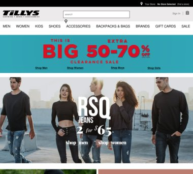 8c3cd6f77a0 Up to 50% Off Tillys Coupons