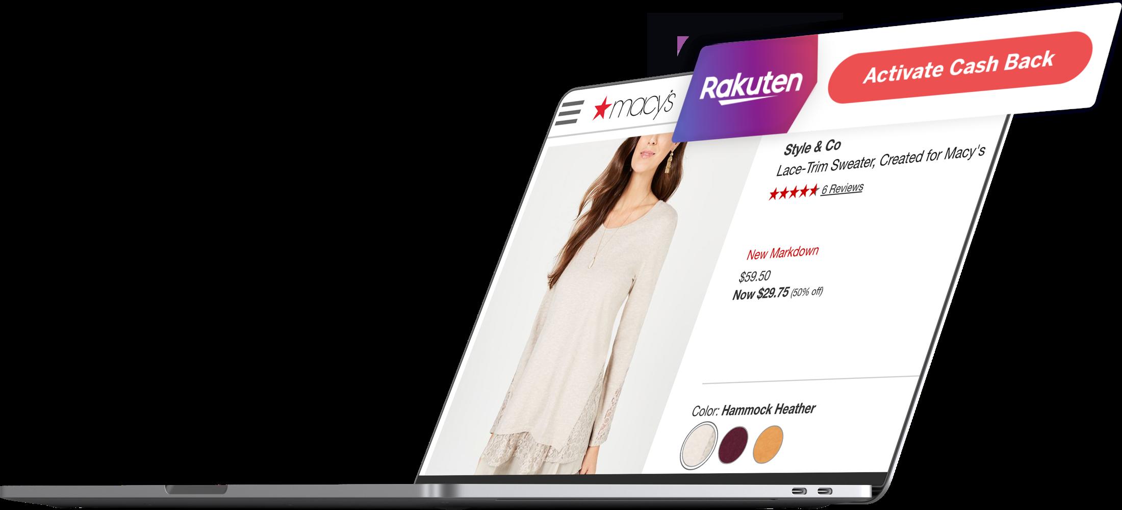 The Rakuten Cash Back Button | Rakuten