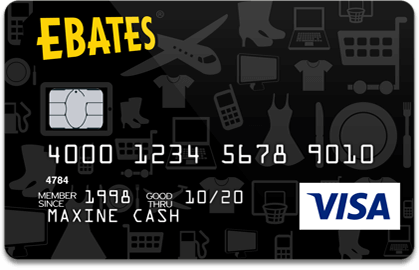Ebates Cash Back Visa® Credit Card