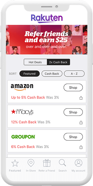 Rakuten Coupons App for iPhone iOS & Android | Rakuten Mobile App