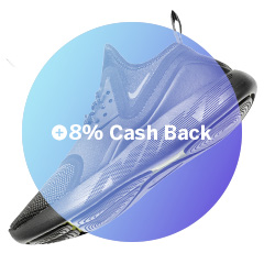 Shop as usual to earn Cash Back